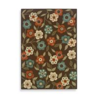 Oriental Weavers Montego 7-Foot 10-Inch x 10-Foot 10-Inch Rug in Brown Floral