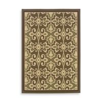 Oriental Weavers Montego 7-Foot 10-Inch x 10-Foot 10-Inch Rug in Damask Green