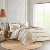 Madison Park Leona King/California King Comforter Set in Taupe