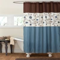 Royal Garden 72 Inch X Shower Curtain