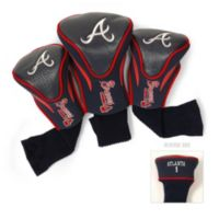 Atlanta Braves 3-Pack Contour Golf Club Headcovers