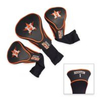 Houston Astros 3-Pack Contour Golf Club Headcovers