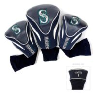MLB Seattle Mariners 3-Pack Contour Golf Club Headcovers