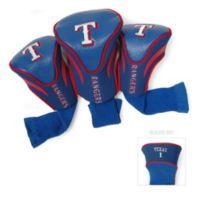 MLB Texas Rangers 3-Pack Contour Golf Club Headcovers