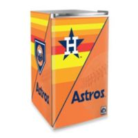 Houston Astros Licensed Counter Height Refrigerator