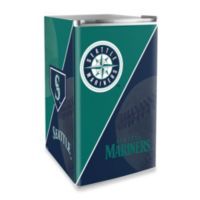 Seattle Mariners Licensed Counter Height Refrigerator