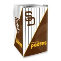 San Diego Padres Licensed Counter Height Refrigerator