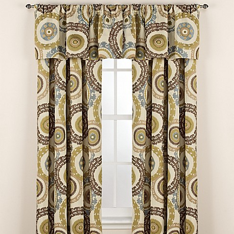 Suzani Rod Pocket Window Curtain Panels Bed Bath Beyond