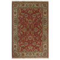 Karastan Ashara Agra 8-Foot 8-Inch x 12-Foot Rug in Red