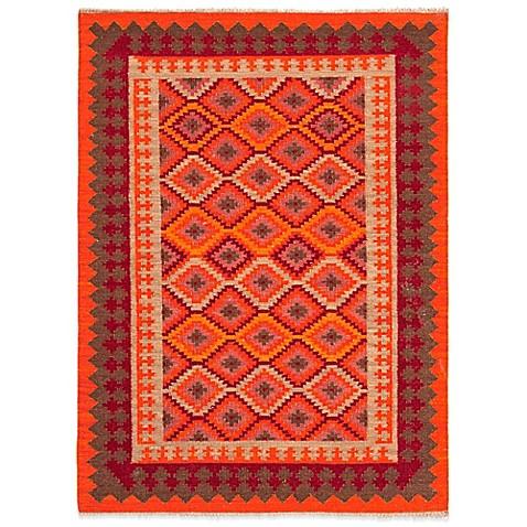 Jaipur Anatolia Izmir Rug In Medium Red Tobasco Bed Bath