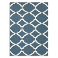Jaipur Maroc Rafi 5-Foot x 8-Foot Rug in Dark Denim