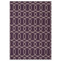 Jaipur Sabrine 5-Foot x 8-Foot Rug in Continental Plum