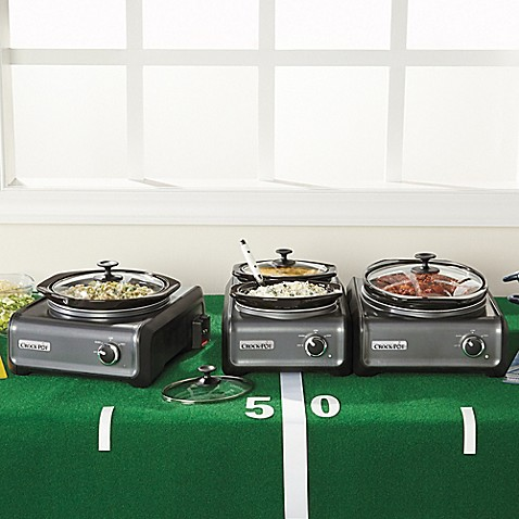 Crock Pot® Hook Up™ Connectable Entertaining System In Charcoal