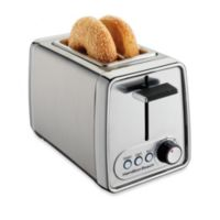 Hamilton Beach® 2-Slice Modern Chrome Toaster