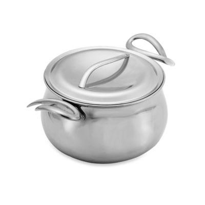 Nambe Gourmet 8-Quart Stock Pot with Lid