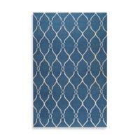 Surya Afton 2-Foot x 3-Foot Rug in Blue/Ivory