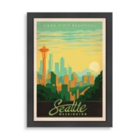 Americanflat Seattle Framed Wall Art