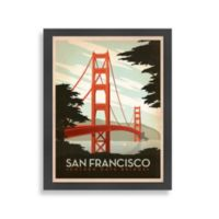 Americanflat The Art & Soul of America Golden Gate Wall Art