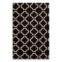 Surya Byron 2-Foot x 3-Foot Rug in Black/Cream