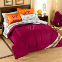 Virginia Tech Hokies Full Applique Bedding Set
