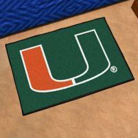 University of Miami Floor Mat