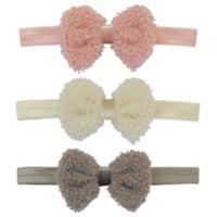So 'Dorable™ 3-Pack Fuzzy Headbands