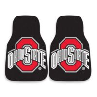 Ohio State University Carpeted Car Mats (Set of 2)