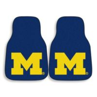 University of Michigan Carpeted Car Mats (Set of 2)