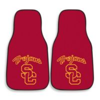 University of Southern California Nylon Car Mat (Set of 2)