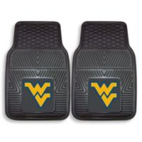 West Virginia University Vinyl Car Mat (Set of 2)