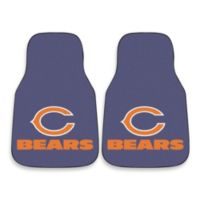 NFL Chicago Bears Carpeted Car Mat (Set of 2)