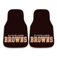 NFL Cleveland Browns Carpeted Car Mats (Set of 2)