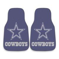 Dallas Cowboys Carpeted Car Mats (Set of 2)