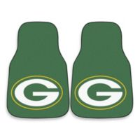 Green Bay Packers Carpeted Car Mats (Set of 2)