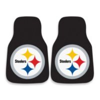 NFL Pittsburgh Steelers Carpeted Car Mats (Set of 2)