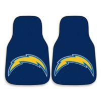 NFL San Diego Chargers Carpeted Car Mats (Set of 2)