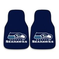 NFL Seattle Seahawks Carpeted Car Mats (Set of 2)