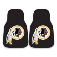 NFL Washington Redskins Carpeted Car Mats (Set of 2)