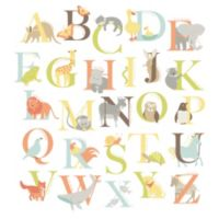 WallPops!® Alphabet Zoo Wall Art Kit