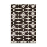 Surya Anderson Lattice Rug 5-Foot x 8-Foot in Black