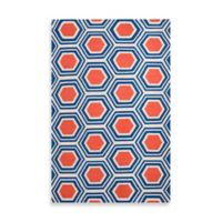 Surya Andrews Honeycomb Rug 8-Foot x 11-Foot in Royal Blue