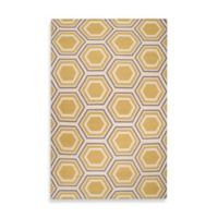 Surya Andrews Honeycomb Rug 8-Foot x 11-Foot in Yellow