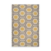 Surya Andrews Honeycomb Rug 5-Foot x 8-Foot in Light Blue