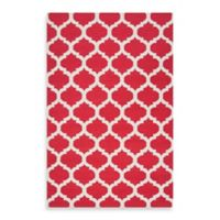 Surya Evesham 5-Foot x 8-Foot Rug in Venetian Red/Oatmeal