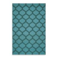 Surya Evesham 5-Foot x 8-Foot Rug in Teal Green/Sea Blue