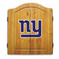 NFL New York Giants Complete Dart Cabinet Set
