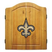 NFL New Orleans Saints Complete Dart Cabinet Set