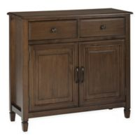 Simpli Home™ Connaught Storage Cabinet in Brown