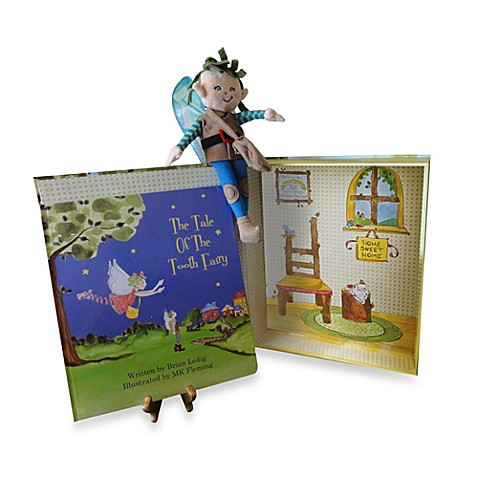 Tale of the Tooth Fairy Story Book Set w/Plush Boy Fairy