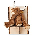 Glenna Jean Carson Steer Wall Hanging in Brown